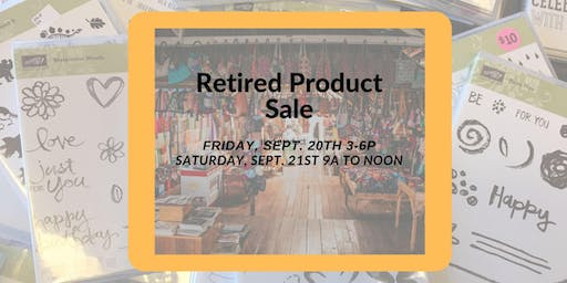 Retired Stampin' Up! Product sale