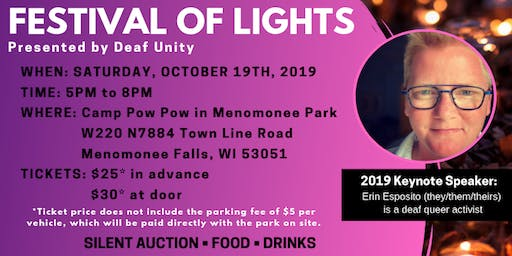 "Festival of Lights:  ""The Power of the CommUnity"""