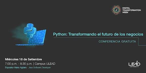 Como la Programación en Python Puede Cambiar el Futuro de su Negocio