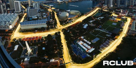 Singapore Grand Prix @ RCLUB tickets