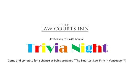 Trivia Night at the Law Courts Inn