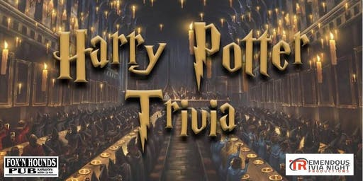 Harry Potter Trivia Night KAMLOOPS!