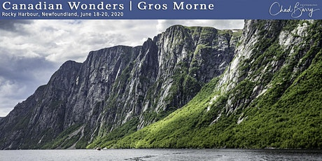 Canadian Wonders | Gros Morne Photo Workshop with Chad Barry tickets