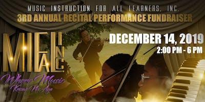 3rd Annual Dinner Recital Fundraiser