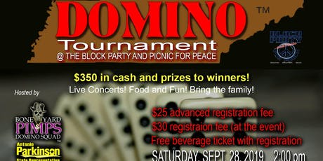 This ain't the App! 5th Annual Tennessee Dominoe Tournament tickets