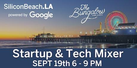 Silicon Beach Fall Tech Mixer powered by Google tickets