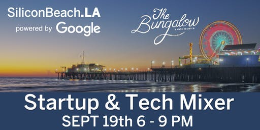 Silicon Beach Fall Tech Mixer powered by Google