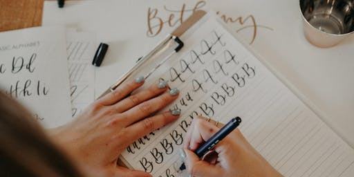 Introduction to Modern Calligraphy Workshop: Baltimore, MD