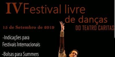 IV FESTIVAL DE DANÇAS DO TEATRO CARITAS