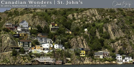 Canadian Wonders | St. John's - Photography Workshop tickets