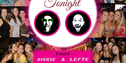 WILD ROVER THURSDAYS W/ Boston Tonight djs Lefty and Averse