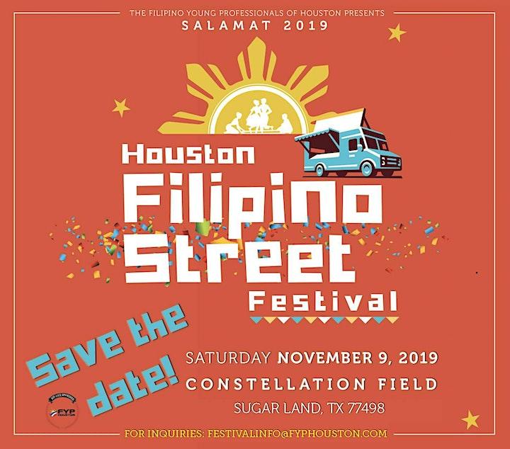 2019 Houston Filipino Street Festival Volunteers (HFSF) image