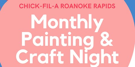 Monthly Painting Class & Kids Craft Night tickets