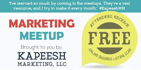 Small Business Marketing Meetup tickets
