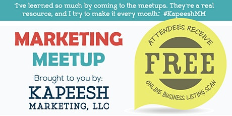 Small Business Marketing Meetup tickets