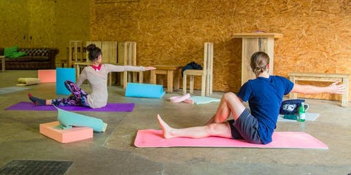Stretch With Us: Artist-Led Yoga