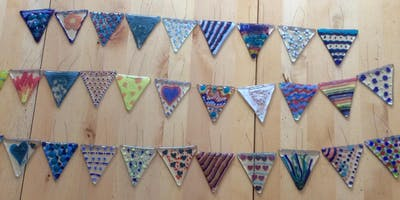 Glass bunting workshop