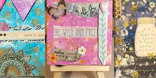Mini Canvas Art Workshop