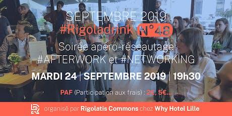 Rigoladrink N°48 - septembre 2019  (Réseautage) billets