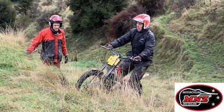 Motorcycle Trial Group Training - Porirua tickets