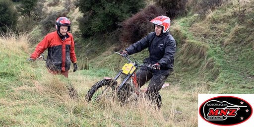 Motorcycle Trial Group Training - Porirua
