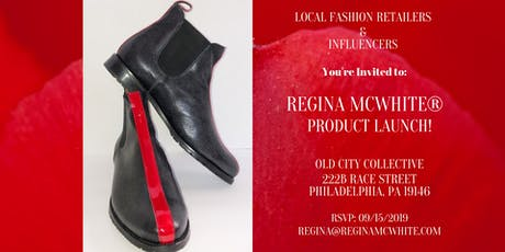 Made for You! Luxury Brand-Regina McWhite® Product Launch tickets