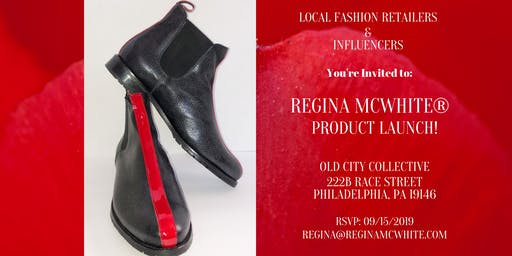 Made for You! Luxury Brand-Regina McWhite® Product Launch