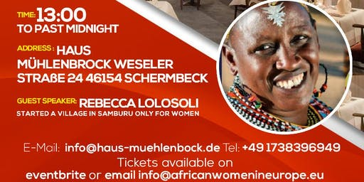 AWE Germany Networking & African Dinner