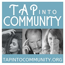 TAP INTO COMMUNITY, 501(c)3 logo