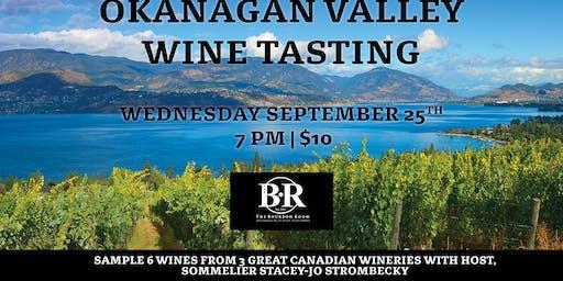 Okanagan Valley Wine Tasting