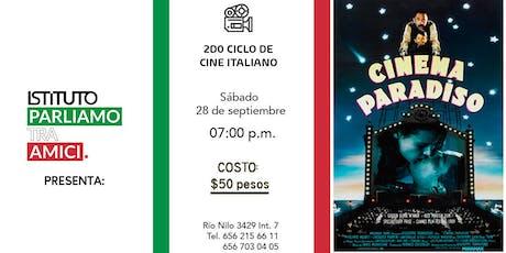 2do Ciclo de Cine Italiano: NUOVO Cinema Paradiso entradas