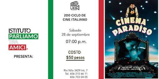 2do Ciclo de Cine Italiano: NUOVO Cinema Paradiso