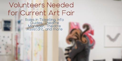 Volunteer for Current Art Fair 2019