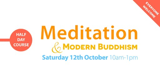 HALF-DAY COURSE: Meditation & Modern Buddhism