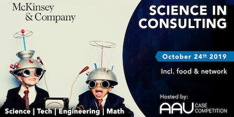 Science in Consulting with McKinsey & Company tickets