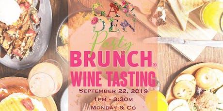 The Taste presents: Garden Party ATL Brunch Wine Tasting tickets