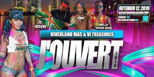 Miami Carnival Jouvert Riverland Mas and V I Treasures