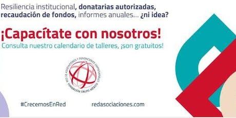 Donatarias autorizadas. Derechos y obligaciones entradas