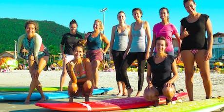 Retiro Misto de Surf e Yoga com Wylyoga ingressos