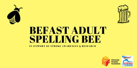 BEFAST Adult Spelling Bee tickets