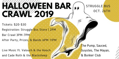 STRUGGLE BUS 2019 HALLOWEEN BAR CRAWL tickets