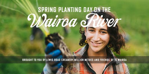 Spring Planting Day on the Wairoa River