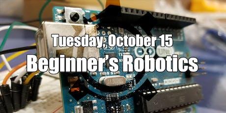 Robotics for the absolute beginner tickets