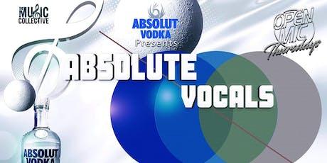 Absolut Vocals tickets
