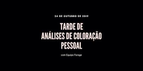 Tarde de Análise de Cor em São Paulo - 24 de outubro ingressos