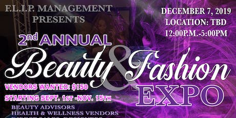 2nd Annual Beauty & Fashion Expo  tickets