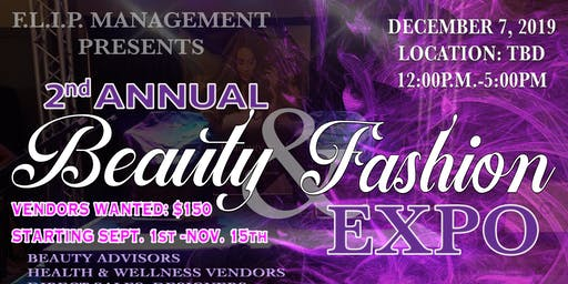 2nd Annual Beauty & Fashion Expo