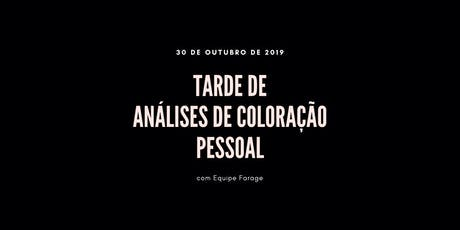 Tarde de Análise de Cor em São Paulo - 30 de outubro ingressos
