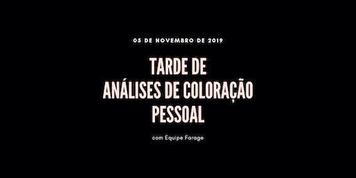 Tarde de Análise de Cor em São Paulo - 05 de novembro