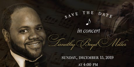 Timothy B. Miller  & Friends Coming Home for Christmas Concert tickets